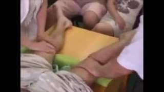Массаж после травм коленного сустава.