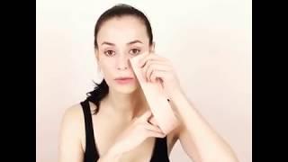 Кинезиотейпирование лица, эстетическое тейпирование, кинезио тейп в косметологии