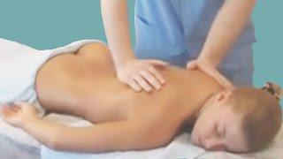 Классический массаж спины. Гигиенический, общеоздоровительный массаж всех отделов позвоночника