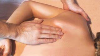 Массаж грудного отдела позвоночника при болях в спине.