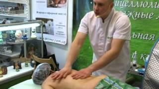 Лечебный массаж при остеохондрозе ч.3