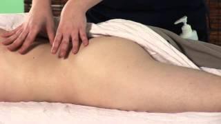 Массаж при защимлении седалищного нерва