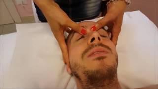 Массаж головы. Техника массажа.