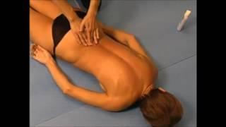 Техника массажа спины.