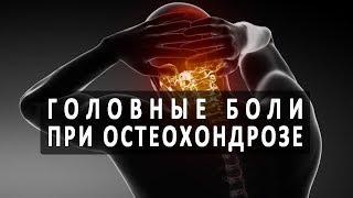 Почему при остеохондрозе болит голова?