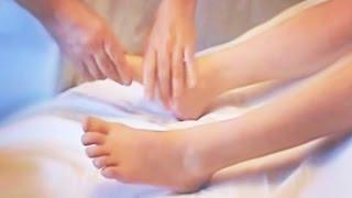 Массаж передней и задней части нижних конечностей. Техника массажа ног
